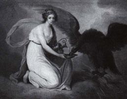 Долгорукова в виде Гебы кормящей орла