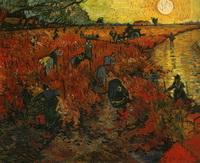 Красный виноградник (В. ван Гог, 1888 г.)
