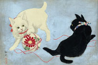 Образы кошек в японском искусстве (укиё-э)