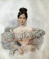 Портрет Н.Н. Пушкиной (А. Брюллов, 1831 г.)