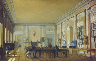 Живописная мастерская в Московском училище живописи и ваяния