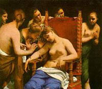 Смерть Клеопатры (Г. Каньяччи)