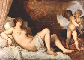 Даная и Амур (Тициан)