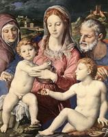 Святое семейство (Аньоло Бронзино)