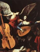 Св. Цецилия и Ангел (К. Сарачени)