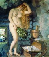 Русская Венера (Б.М. Кустодиев)
