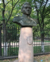 Бюст М.П. Лазарева в Севастополе