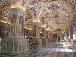 Сикстинский салон в Ватиканской библиотеке
