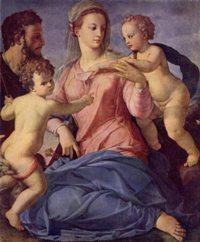 1540-1550. галерея, Лондон. 10.Святое семейство