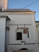 Поясок на церкви Сергия Радонежского