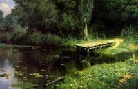 Заросший пруд (В.Д. Поленов)