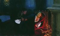 Самосожжение Гоголя (И. Репин, 1909 г.)