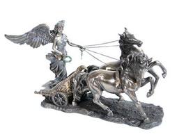 Ника в колеснице (тонкий слой бронзы, тонировка)