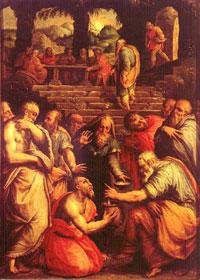Пророк Елисей (Джорджо Вазари )