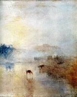 Замок Норхэм на рассвете (Дж. Тернер, 1840 г.)