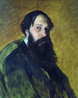 Портрет А.К. Саврасова (В.Г. Перов)
