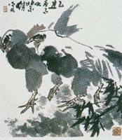 Петухи (Чжао Нин-ань, XX в.)