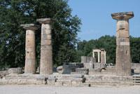 Остатки храма богини Геры