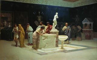 В приемной у Мецената (Степан Бакалович)