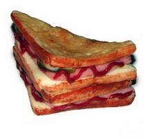 Сандвич треугольный (муляж)