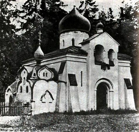 Церковь в Абрамцеве Васнецов В.М.