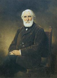 Иван Сергеевич Тургенев (А.А. Харламов)