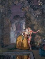 Константин Сомов, Арлекин и дама