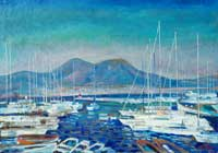Яхты в Неаполитанском заливе (Олег Савостюк)