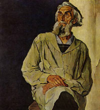 Портрет С.Т. Коненкова (П.Д. Корин, 1947 г.)